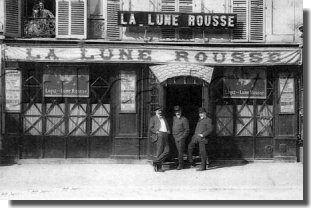 La Lune Rousse -Les Cafés-Concerts à Paris dans les années1900