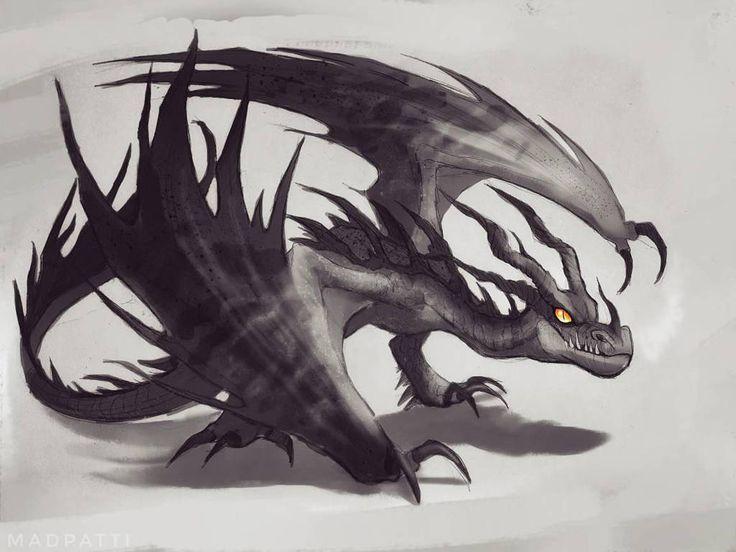8331f1714cb91576a9a64027b7ad355b - Hookfang the Monstrous Nightmare dragon