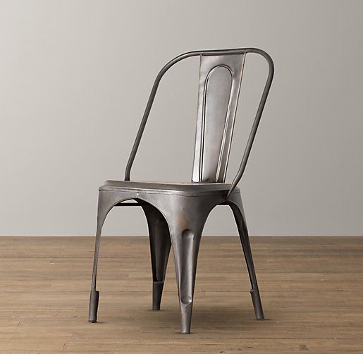 83 best local decoration images on pinterest bakery for Restoration hardware metal chair