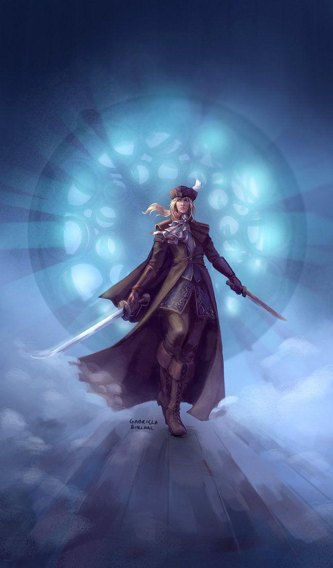 Bloodborne Lady Maria Of The Astral Clocktower By Gabriela Birchal Bloodborne Art Bloodborne Dark Souls Art