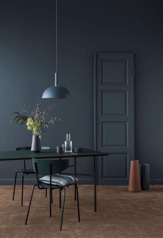 1000 id es propos de meubles en bois fonc sur for Couleur maison interieur tendance