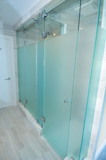 frosted glass shower - photo #15
