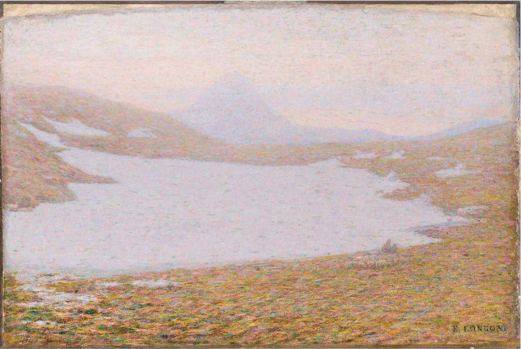 Artgate Fondazione Cariplo - Longoni Emilio, Primavera in alta montagna - Divisionismo (pittura) - Wikipedia