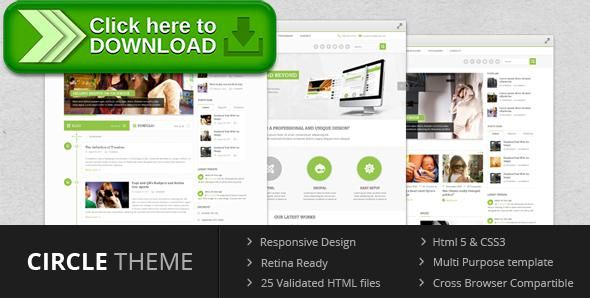 [ThemeForest]Free nulled download Circle theme - Multi Purpose Template from http://zippyfile.download/f.php?id=6329 Tags: blog, business, clean, corporate, css3, html5, magazine, multi purpose, portfolio, responsive, retina, technology