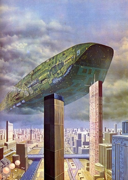 : Scifi Art, Angus Mckie, Futuristic Airship, Futurismo Scifi, Sci Fi Art, Future Scifi, Retro Future, Science Fiction, Retro Futuristic