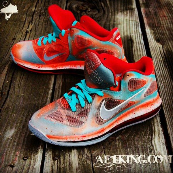 33873c26c0b ... Nike LeBron 9 Low Remember The Night Custom by GourmetKickz  www.marsportmall.