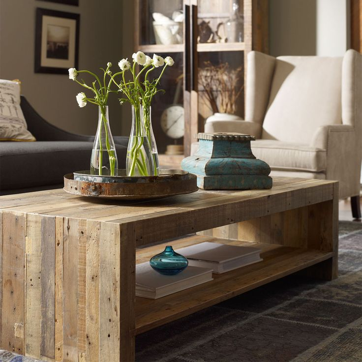 Combining the rustic charm of natural wood with contemporary designs, The Beckowurth Coffee Table celebrates the craggy charm of snow-capped mountains and clear alpine lakes with high-style furnishing