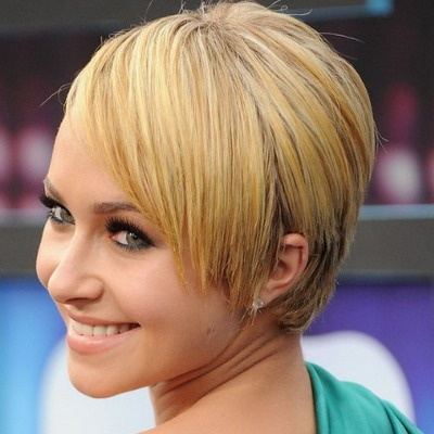 Short Straight Casual Hairstyles 2013 Coupe Courte Femme