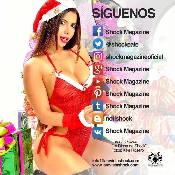 Síguenos en las redes sociales.....Shockeate!!!! http://www.larevistashock.com
