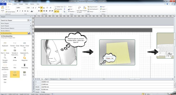 Storyboarding with SketchUp and visio - Part 2 Use your scenes - what is storyboard