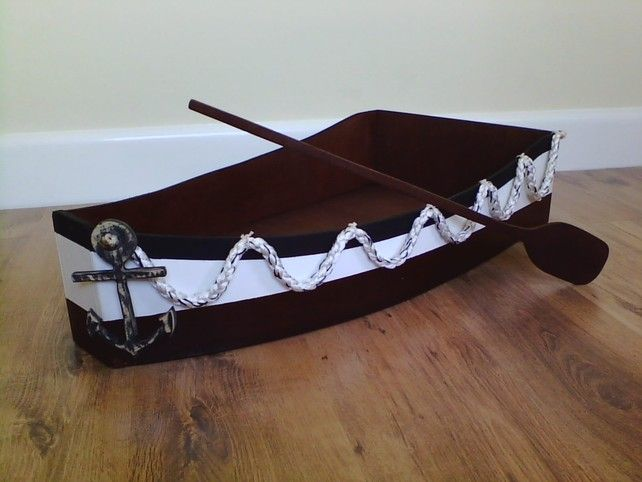 Toddler size wooden boat Photography prop