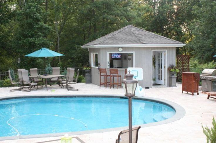 Pool House Pool Updating Pinterest Pool Cabana Yard