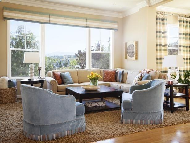 Cottage Living-rooms from Coddington Design on HGTV