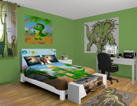 63 best images about dinosaur bedroom theme ideas on for Dinosaur bedroom ideas boys