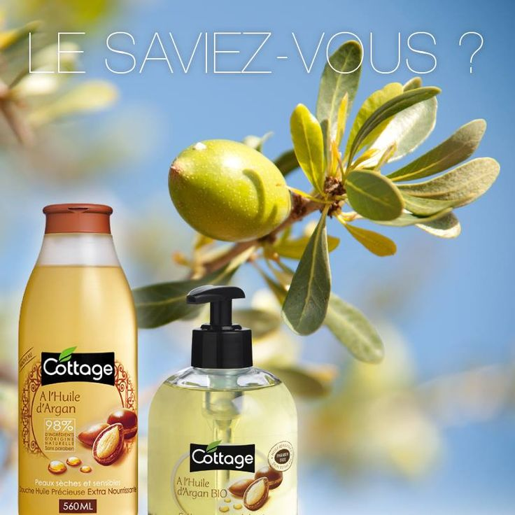 Le saviez-vous ? L'huile d'Argan est riche en acides gras essentiels oméga-6 et en tocophérols (vitamine E), des antioxydants qui préviennent le dessèchement de la peau.