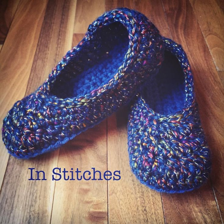 "43 Likes, 4 Comments - Stacey L (@inslstitches) on Instagram: ""Always love working up a pair of Oma House Slippers #omahouseslippers #mamacheepatterns…"""