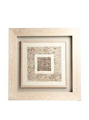 59% OFF Saro Lifestyle Natural Framed Light Square Paper Art