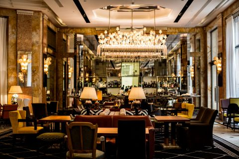 Les Heures Bar at the restored Prince de Galles, a Luxury Collection Hotel, Paris. (Photo: Business Wire)