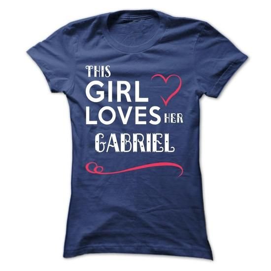 This girl loves her GABRIEL - #party shirt #oversized sweater. GET => https://www.sunfrog.com/Names/This-girl-loves-her-GABRIEL-aoanxqadml-Ladies.html?68278