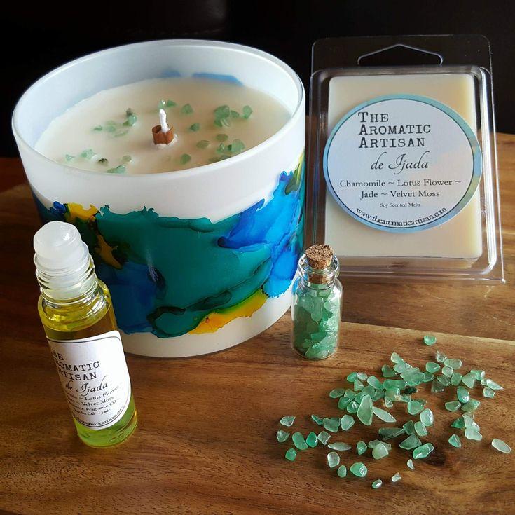 de Ijada Gemstone Luxe  Chamomile, Lotus Flower, Jade, Velvet Moss