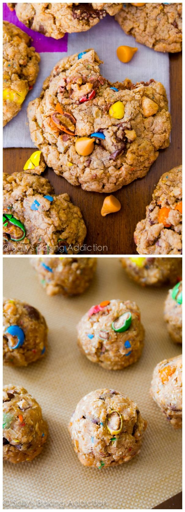 Soft-baked, ultra chewy, and simple oatmeal cookie recipe loaded with your favorites! Less than an hour start-to-finish!
