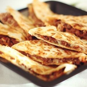Tortilla with meat. Recipes with photos.
