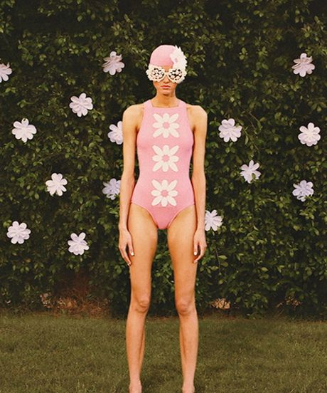 This Swimwear Vid Feels Like A Wes Anderson-Style Vacation #refinery29