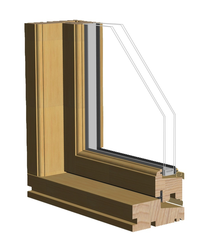 Combi Timber. Double glazed, outward opening casement windows with U-values as low as 1.2w/m2K