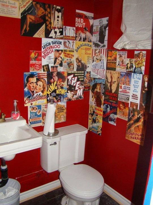 Funky bathroom ...