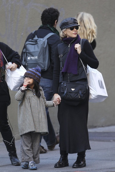 Daisy True Ryan and Meg Ryan Photo - Meg Ryan and Her Daughter in Soho, New York