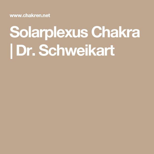 Solarplexus Chakra   Dr. Schweikart