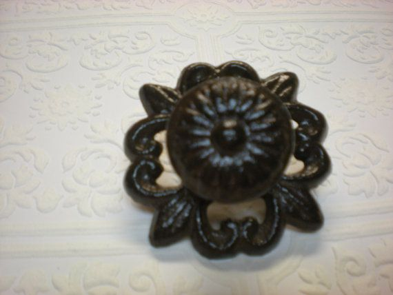 ~~~ This listing if for 1 Knob ~~~  It has been finished in its natural color and sealed for durability.    Measures 3 wide x 1 1/2.  Hardware