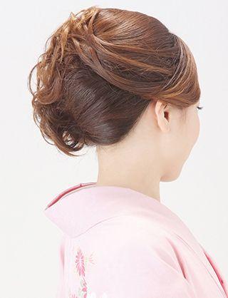 【訪問着ヘア】大人可愛いアップスタイル|夢館ビューティー || 京都 || 着物着付・ドレスヘアセット&メイク || 結婚式・およばれ・パーティに