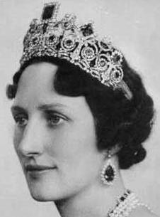Crown Princess Martha of Norway wearing the Emerald & Diamond Tiara