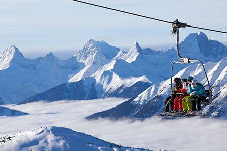 Sunshine Ski Village. Going tomorrow. Ah!