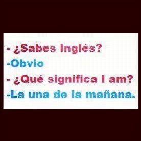 Aprendi con, ingles sin barreras jaja #spanish