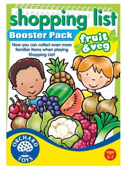 Orchard Toys - Shopping List Booster Pack Fruit n Vegies We love this game and a booster pack would be amazing! #EntropyWishList #PinToWin