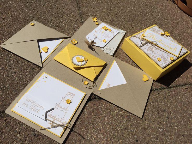 Ideenreichtum - Hochzeitsexplosionsbox