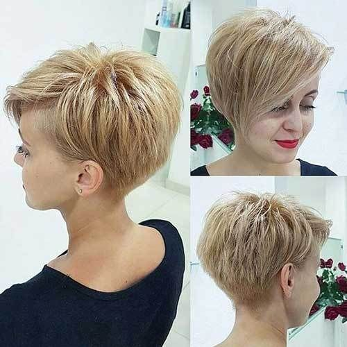 Short Stacked Pixie Haircuts Best Short Hair Styles