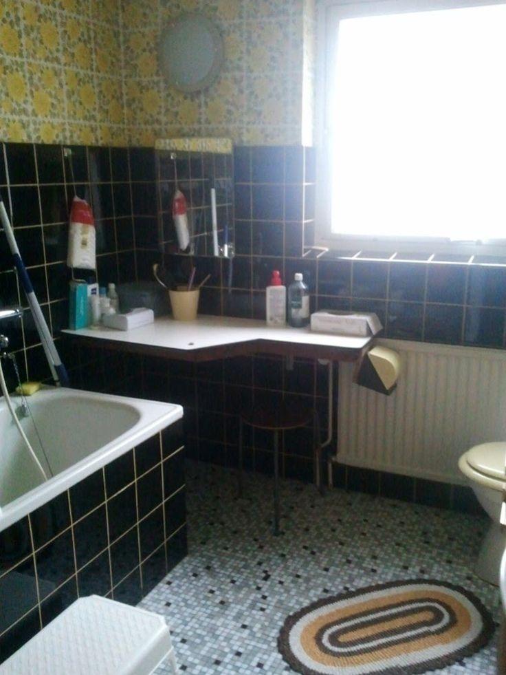 Porslinsbloggen badrum från 60 talet