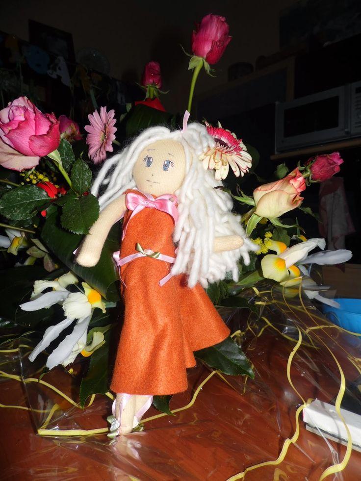 l'angolo di Daggry: bambole di stoffa Mirajane
