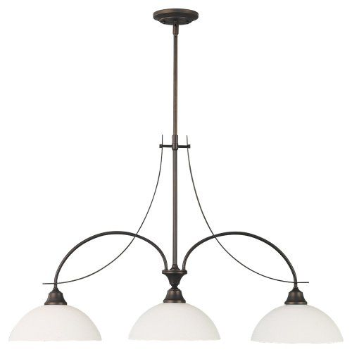 murray feiss f18863orb boulevard threelight billiard chandelier oil rubbed bronze with