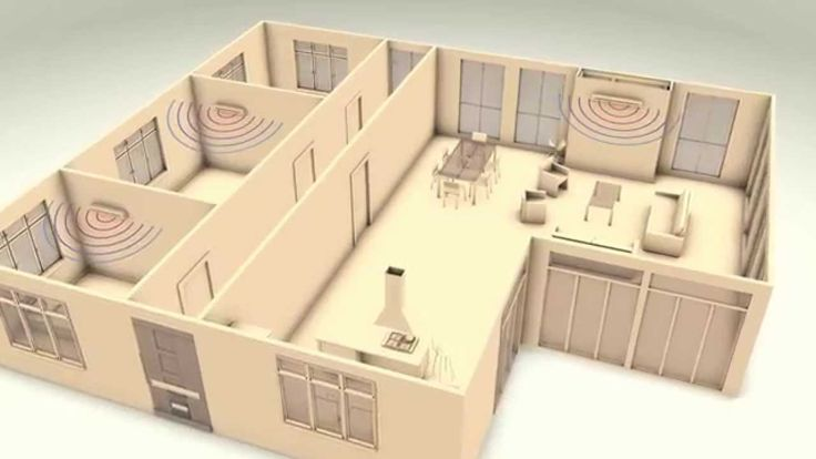 How to heat multiple rooms with a fireplace.  Our Multiroom techology allows…