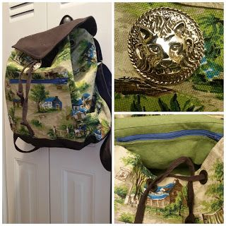 Reuse material and D-rings to create a new bag!