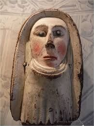 Image result for medieval painted wooden sculptures and  figures