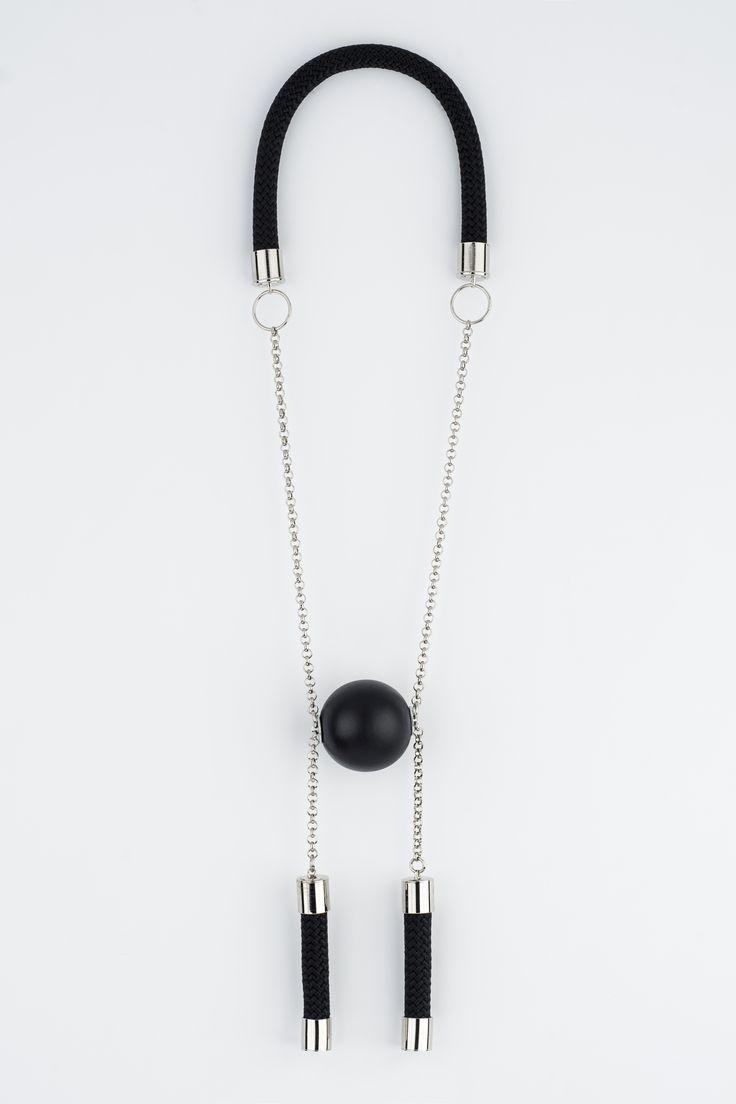 H necklace Yael Keila Sagi for Sketch womens collection FW2015 photo- Assaf Uzan