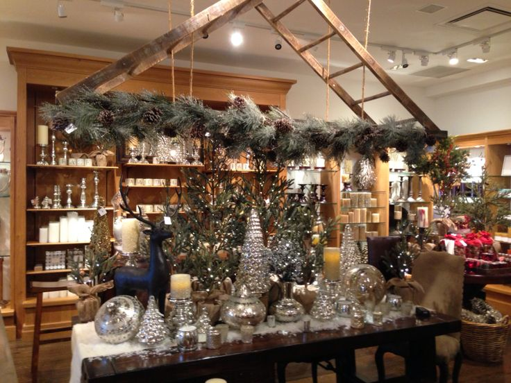 Rustic Christmas Tablescape From Pottery Barn Christmas