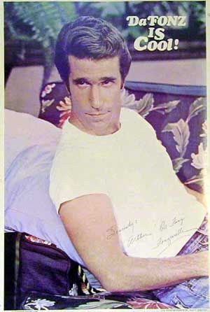 """<3 """"The Fonz"""" from Happy Days"""