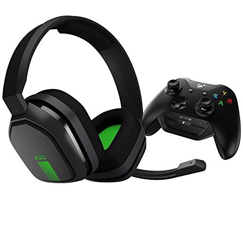 FarCry 5 Gamer  #ASTRO #Gaming #A10 #Gaming #Headset + #MixAmp #M60 - Green/Black - #Xbox One   Price:     Made to out-last your game, the #A10 + #MixAmp #M60 features durable construction and extended comfort so you can play longer with no down-time. A 3.5mm jack provides compatibility with nearly any device including most mobile phones and tablets. The #A10 + #MixAmp #M60 is tuned for #gaming with #ASTRO Audio and offers controller-mounted Game: Voice Balance controls. With