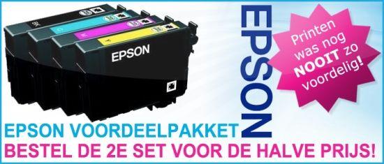 Tip: Bestel nu inktcartridges set voor Brother, Canon of Epson en u krijgt een tweede set voor de halve prijs! :: GOEDKOOPSTE INKTPATRONEN INKTCARTRIDGES TONERS
